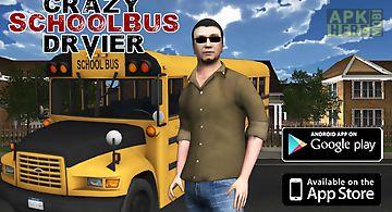 Crazy school bus driver 3d