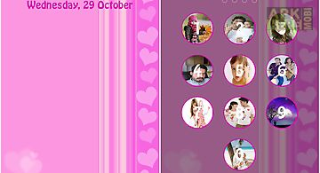 My photos screen lock