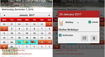 Singapore calendar 2017