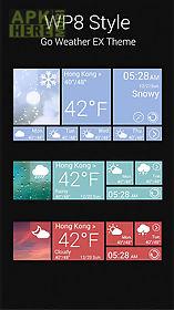 w8 reward theme go weather ex