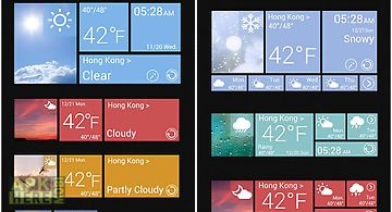 W8 reward theme go weather ex