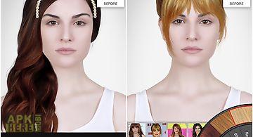 Celebrity hairstyle salon