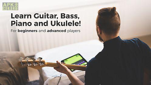 yousician guitar, piano & bass