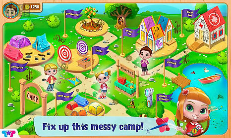 messy summer camp adventures