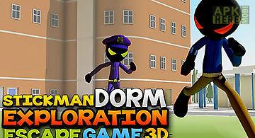 Stickman dorm exploration escape..