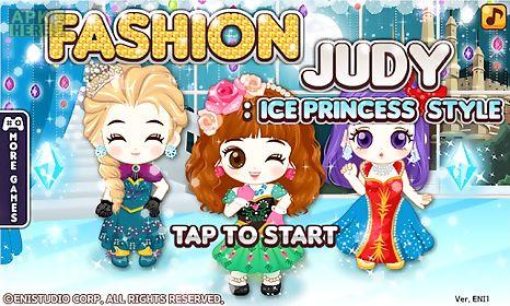 fashion judy: frozen princess