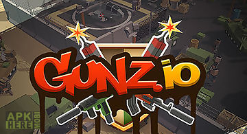 Gunz.io beta: pixel 3d battle