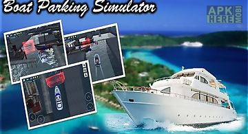 Boat parking 3d simulator