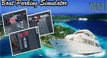 Boat parking 3d simulator