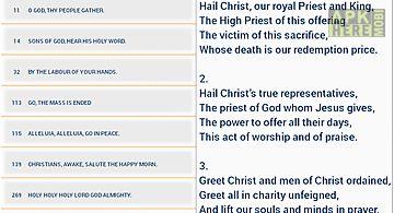 Catholic hymnbook