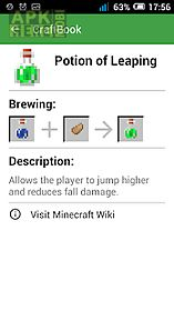 Craftbook: a minecraft guide for Android free download at