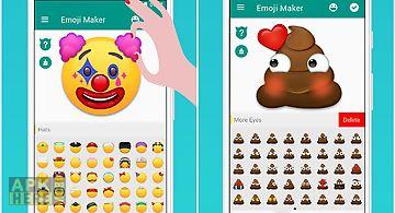 Emoji maker! personalize moji!