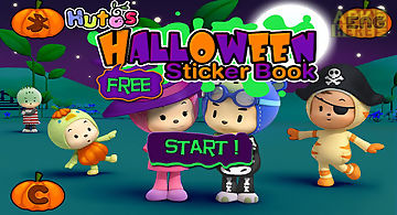 Halloween sticker book lite