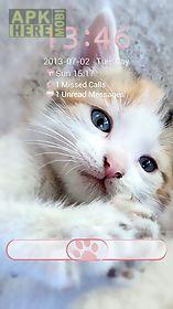 sweet kitty - go locker theme