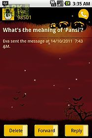 easy sms halloween theme for android free download at apk here store
