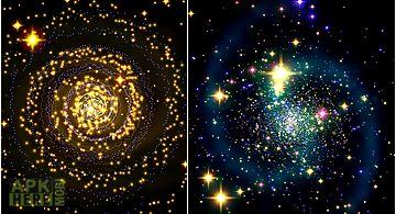 Galaxy music visualizer