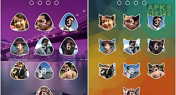 Passcode photo lock screen new