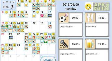 Yokubaridiary-stamp calendar