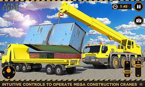 construction crane simulator