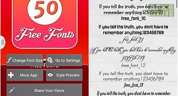 Fonts for flipfont 51