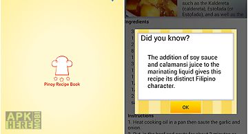 Pinoy foods recipe book