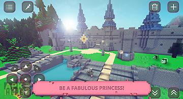 Princess world: craft & build
