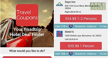 Travel coupons