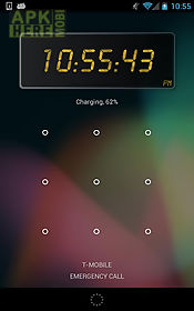 24 clock widget for Android free download at Apk Here store