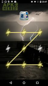 applock theme thunder