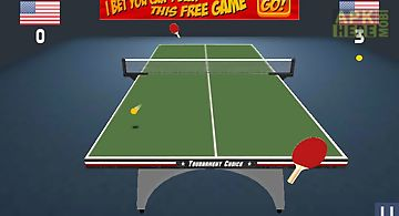 Awesome table tennis