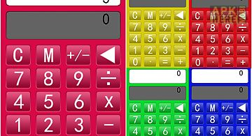 Colorful calculator