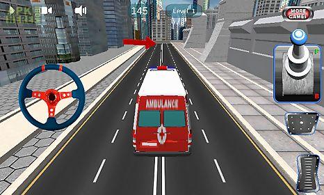 car parking ambulance