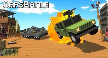 Cars battle