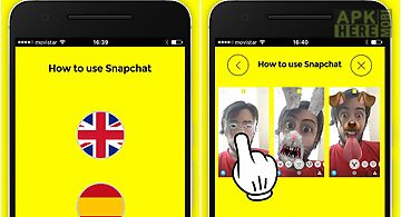 How to use snapchat 2016