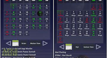 Kalender hijri pasaran
