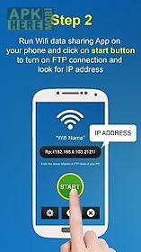 wifi file transfer - ftp