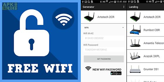 Wifi password viewer free for Android free download at Apk