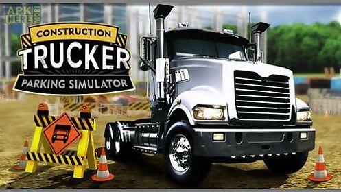 construction: trucker parking simulator