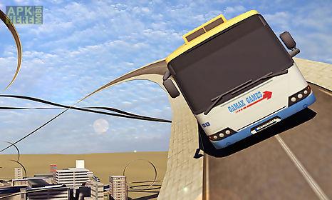 extreme car stunt city driving