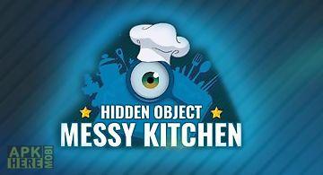 Hidden object: messy kitchen