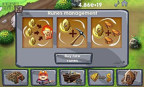 idle miner tycoon. clicker mine idle tycoon