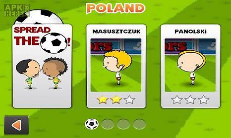 world football 2014. header world football
