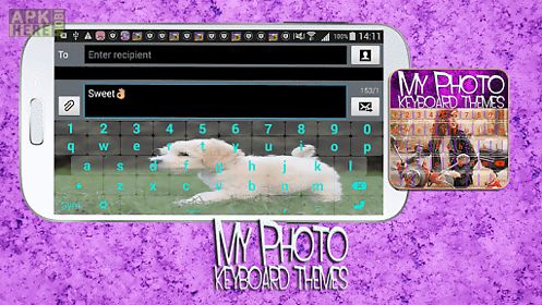 my photo keyboard themes