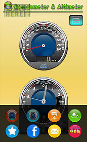speedometer and altimeter