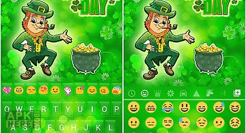 St. patrick day emoji keyboard