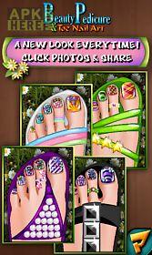 beauty pedicure nail art salon