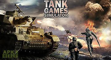 Heavy army war tank driving simu..