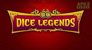 Dice legends: farkle game
