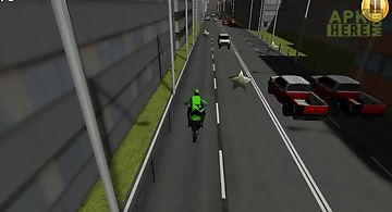 Fast motorcycle traffic racing 3..