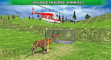 Helicopter animal transport
